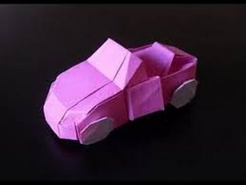 Origami Car Paper How To Make HD