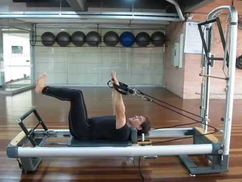 Mid back series Pilates Reformer