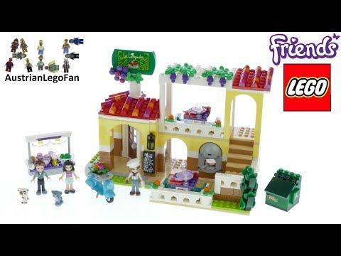 Lego Friends 41379 Heartlake City Restaurant - Lego Speed Build Review