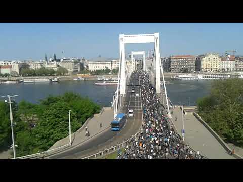 I bike Budapest 2018 (time-lapse version)