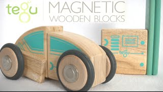 Future Circuit Racer Magnetic Wooden Blocks From Tegu