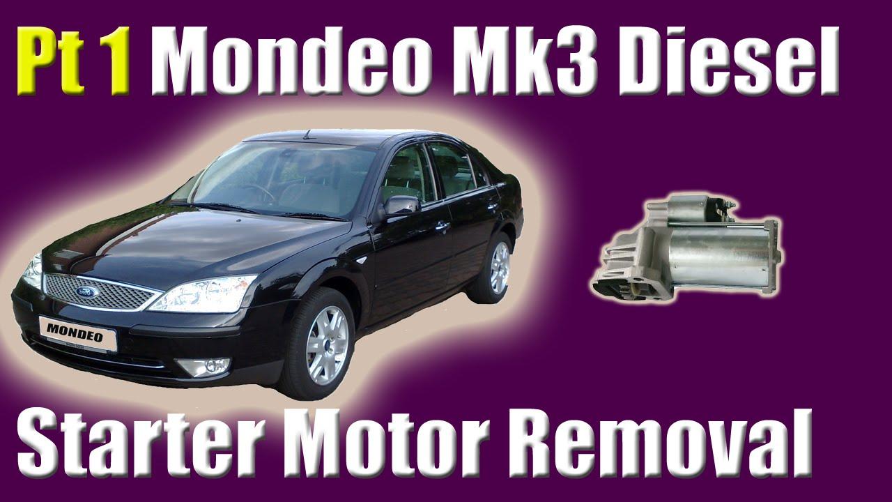 Diesel Engine Starter Diagram Wiring 2 Pir Sensors Ford Mondeo Mk3 Motor Removal X Type And Volvo C30 S40 V50 0ds