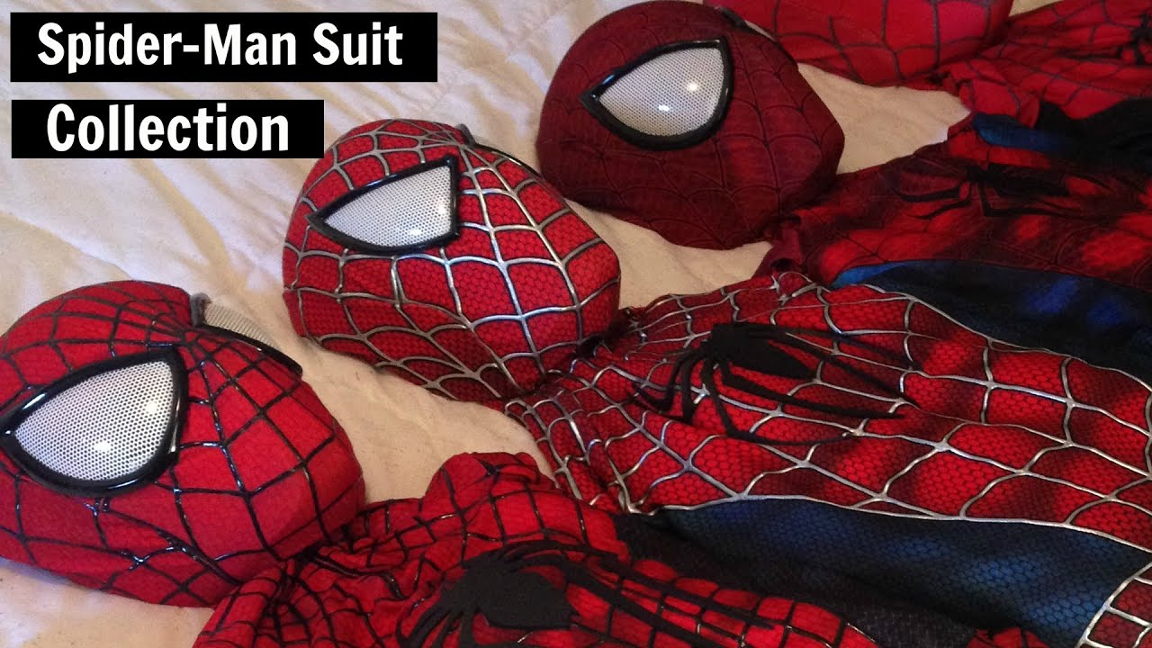 spiderman cosplay my tasm2 collection youtube