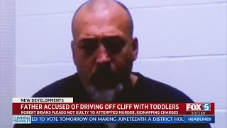 Man Pleads Not Guilty To Charges Of Driving Off Cliff With Daughters In Pickup