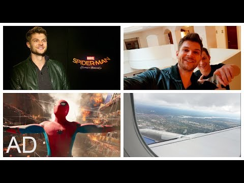 JIM CHAPMAN GETS TO MEET SPIDER-MAN