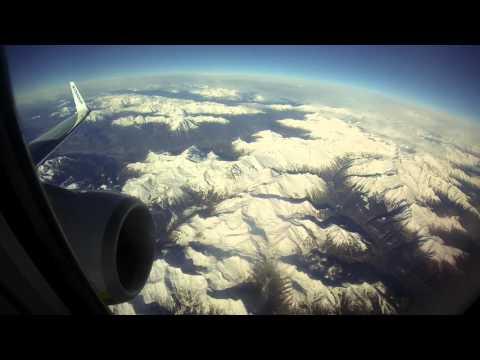Flight FR2872 Bergamo (BGY) - Vilnius (VNO). Takeoff and landing.