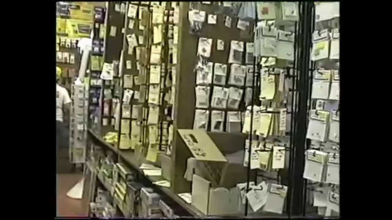 Bobby Hall Hobby shop on Dallas Texas - YouTube