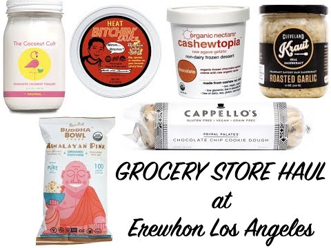 Unique & Fancy Grocery Store Haul from Erewhon