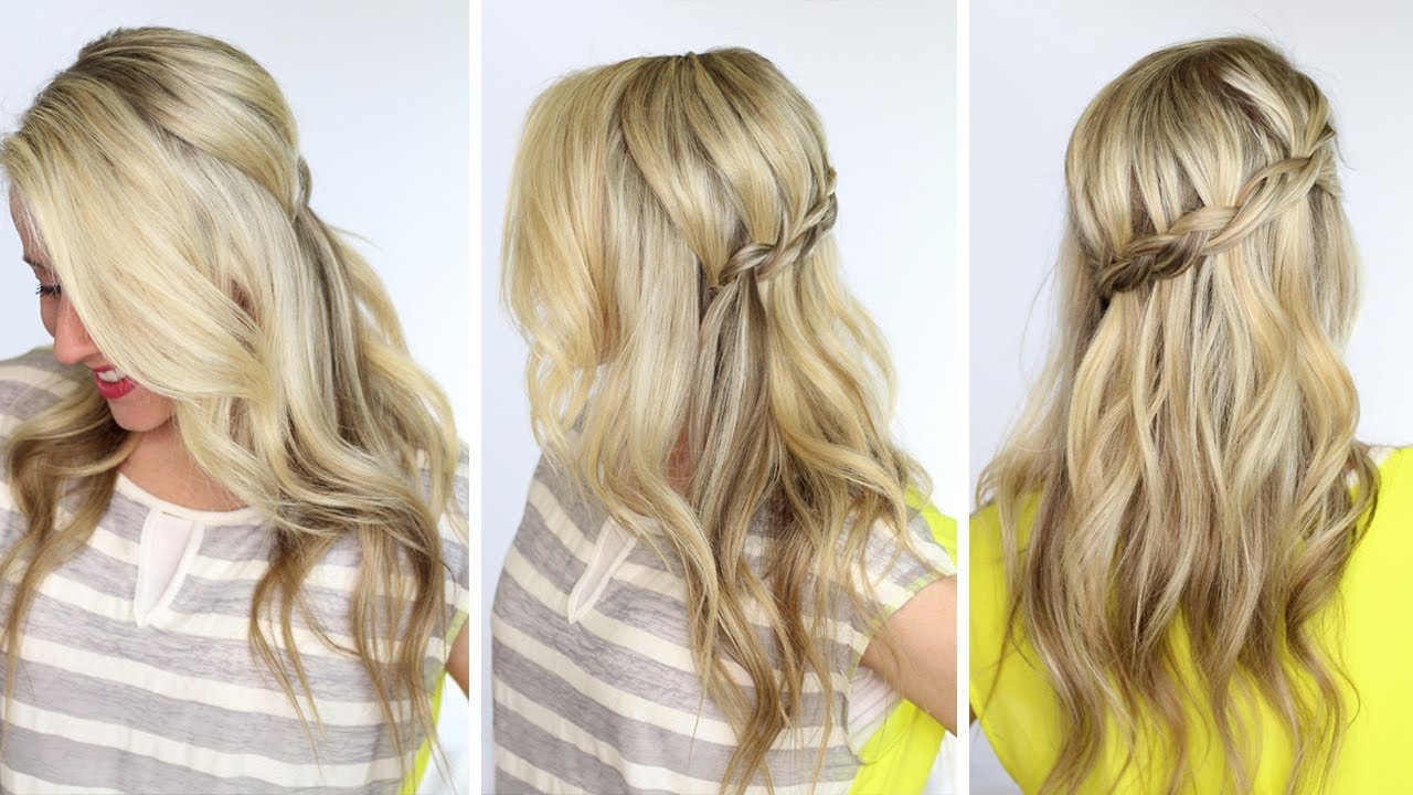 Dutch Waterfall Braid DIY YouTube