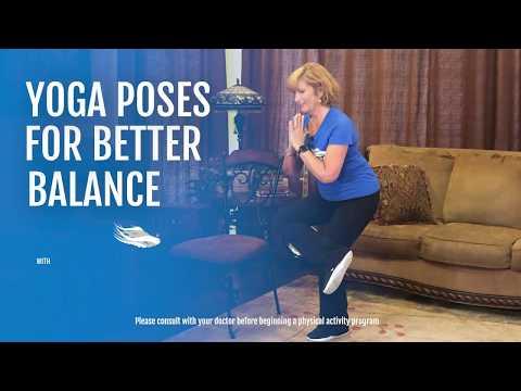 Yoga Poses for Better Balance