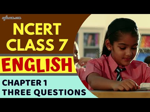 Class7 | English | Chapter 1 | NCERT SOLUTIONS