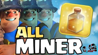 Clash of Clans - MASS MINER ATTACK: 3 Star max TH11 war base [Legend league gameplay]