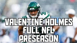 Valentine Holmes Full NFL Preseason! Valentine Holmes New York Jets Preseason Highlights!