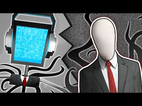 SLENDERMAN SONG Creepypasta Rap Music  ► Fandroid The Musical Robot ft Daddyphatsnaps