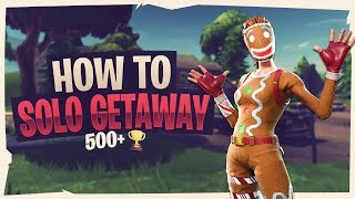 *EASY* HOW TO WIN EVERY GAME OF SOLO GETAWAY - Fortnite Battle Royale #FaZe5