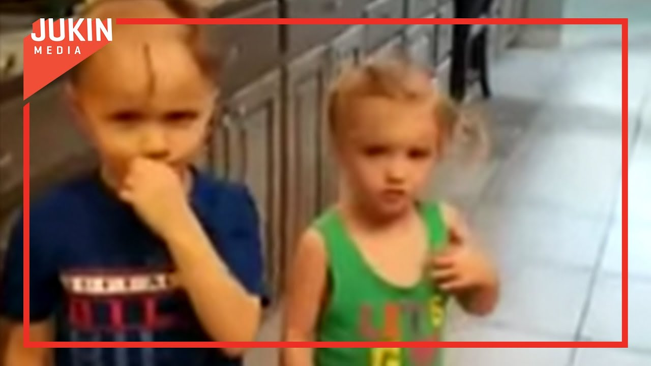 Mom Catches Son Shaving Siblings Heads