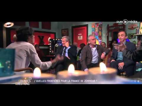 Vif accrochage entre Mazarine Pingeot et Eric Zemmour - LGQ