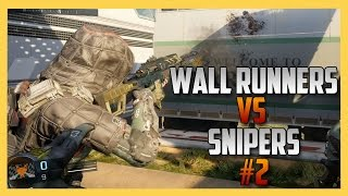 Wall Runners vs Snipers #2 - Gotta Get Away
