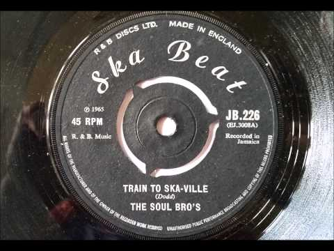 The Soul Bro's Train To Ska-Ville - Ska Beat - Studio One - Coxsone Dodd