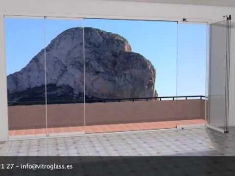 Cerramientos de terrazas cortinas de cristal - Cortinas para puertas leroy merlin ...
