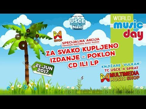 Multimedia Record Store, FM Portal i NAXI radio - Akcija povodom 21. juna, SVETSKOG DANA MUZIKE