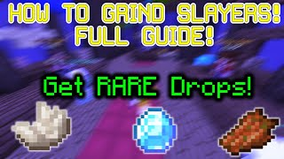 (Updated) HOW TO GRIND SLAYERS! FULL GUIDE! - Hypixel Skyblock