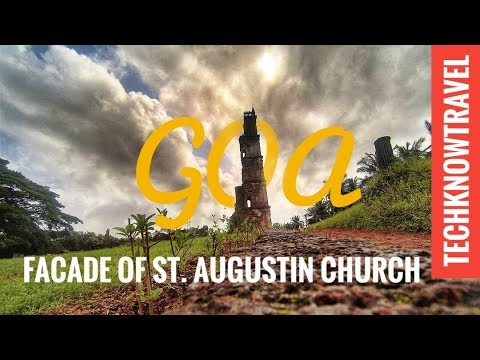 Bell Tower of St. Augustine Church, Old Goa | Goa Travel Video