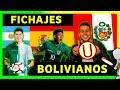EL FUTURO DE BOLIVIA - FICHAJES - BOLIVIANOS EN EL EXTRANJERO   2019