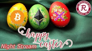 Bitcoin LIVE : BTC and Altcoin Easter Stream. Part 2. Episode 468 - Crypto Technical Analysis