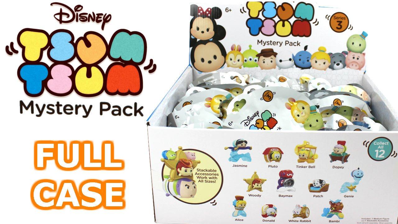 Tsum Tsum Mystery Stack Pack Series 3 Blind Bag Full Case