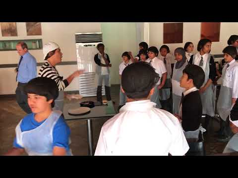 "Pizza Express Qatar "" School Visit"" Al-Khor International School Doha"