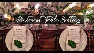 DIY Wedding Table Decor with (Affordable) Greenery 2019 | DIY wedding