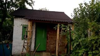 видео Открытая веранда к деревянному дому: подбираем вариант