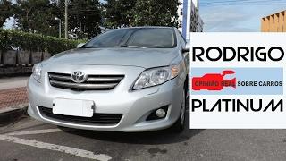 Toyota Corolla Seja Simples e Seja Feliz Opinião Real do Dono Detalhes Parte 1