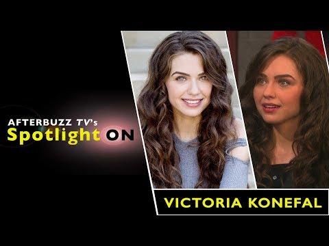 Victoria Konefal Interview   AfterBuzz TV's Spotlight On
