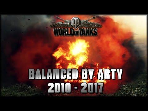 World of Tanks - Arty - 2010-2017 [ deutsch 🐄 gameplay ]