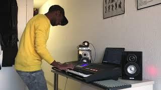 Bébé  MHD feat Dadju Cover Piano (beat by Renzo)