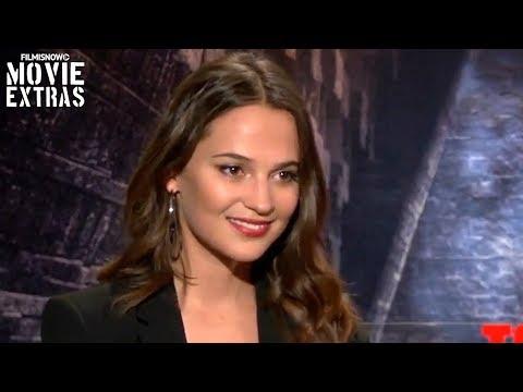 "tomb-raider-(2018)-alicia-vikander-""lara-croft""-talks-about-her-experience-making-the-movie"