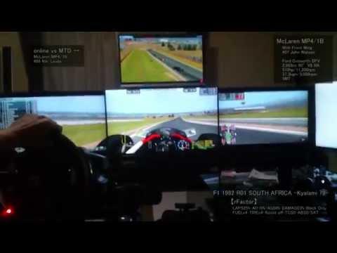 【HROK】[McLaren MP4/1B] F1 1982 R01 SOUTH AFRICA -Kyalami- Online vs MTD 18位