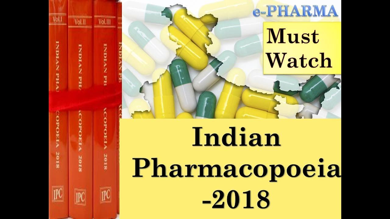 Book Of Indian Pharmacopoeia