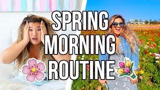 SPRING MORNING ROUTINE 2017!!