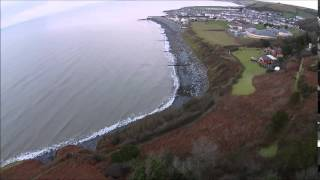 Aberaeron  Ceredigion January 2015 West Wales HD Eye in the SKY