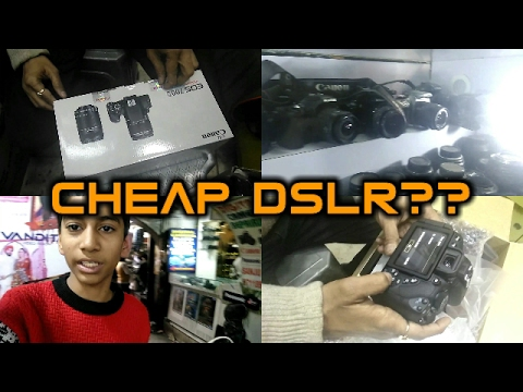 Vlog #3 - Cheapest DSLR Market in India I Chandni Chowk I Second Hand DSLR