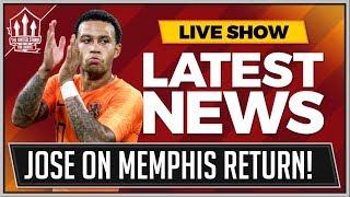 Mourinho On Memphis Manchester United Return   Man Utd News