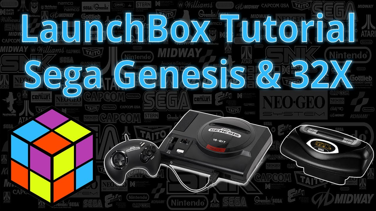 Problem launching Sega 32X games via LaunchBox & RetroArch
