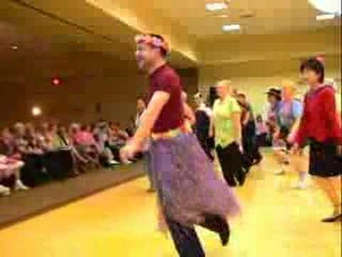JOHN ROBINSON DANCING SOPHISTICATED HULA