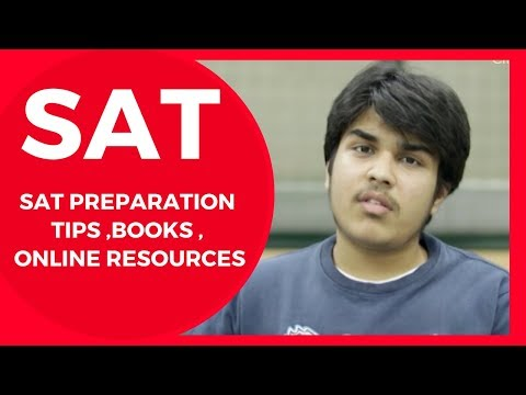 SAT Preparation Tips ,Books , classes and Online Resources