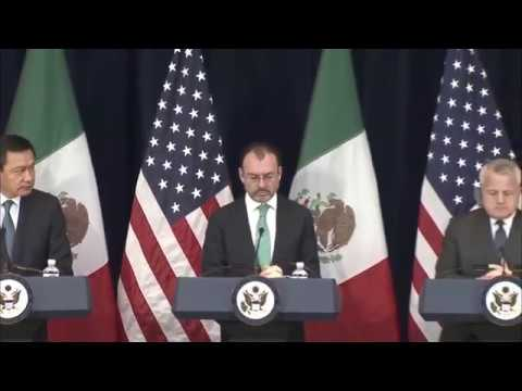 U.S. - MEXICO STRATEGIC DIALOGUE @ DEPT OF STATE 12/14/17