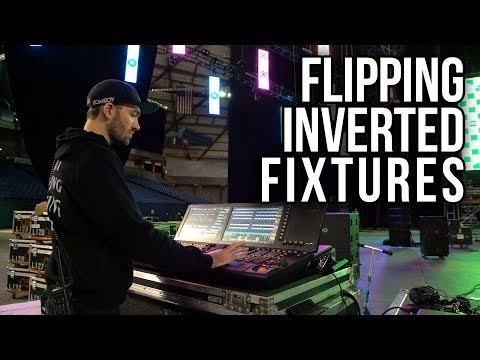 How to Virtually Flip LED Pixel Fixtures