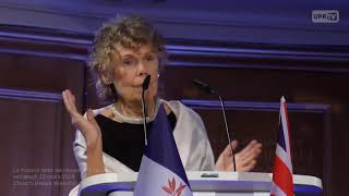 Kate Hoey MP at La France Libre de nouveau à Londres